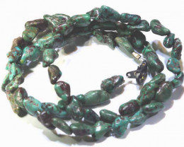 392 CTS-GREEN TURQUOISE  NECKLACE   NP-392