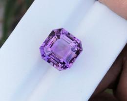 8.90 Ct Natural Purple Transparent Amethyst Gemstone