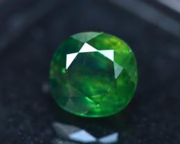 Sapphire 2.43Ct Natural Green SapphireE0132