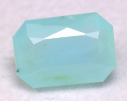 Paraiba Opal 2.64Ct Natural Top Seaform Paraiba Blue Opal B0130