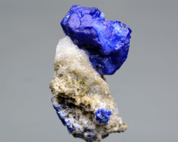 284 CT Beautiful Lazurite With Calcite From Afghanistan