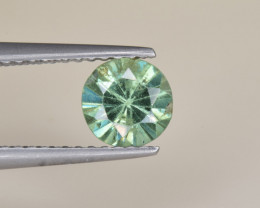 Natural Demantoid Garnet 0.92 Cts, Full Sparkle Faceted Gemstone