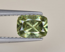 Natural Demantoid Garnet 0.98 Cts, Full Sparkle Faceted Gemstone