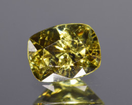Natural Demantoid Garnet 1.38 Cts, Full Sparkle Faceted Gemstone