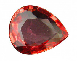 AIG Certified Natural Heated Padparadscha Sapphire - 0.96 ct