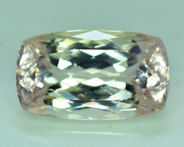 NR Auction 24.25 Carats Top Quality Peach Color Kunzite Gemstone