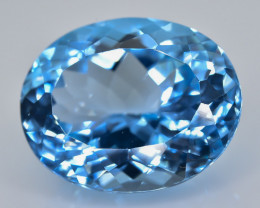 20.43 Crt Natural Topaz Faceted Gemstone.( AB 33)