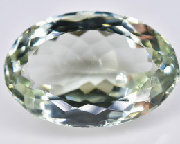8.55 Crt Green Amethyst Prasiolite Faceted Gemstone (Rk-4)