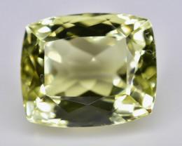 6.58 Crt Lemon Quartz Faceted Gemstone (Rk-4)