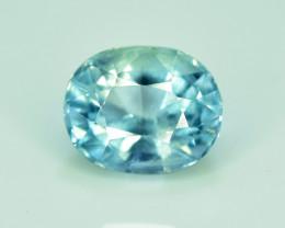 NR-2.35 Carats Natural Untreated Blue Aquamarine Gemstone