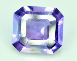 NR  2.55 cts Fancy Cut Natural Purple Color Amehtyst Gemstone
