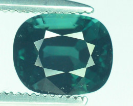 Top Grade 1.25 ct Indicolite Tourmaline ~K