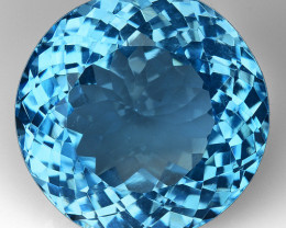22.84 Ct Topaz Top Cutting Top Luster Gemstone. TP  36