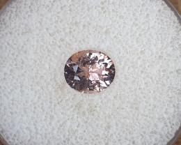1,55ct Padparadscha pink Tourmaline - Designer cut!