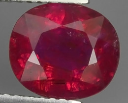 2.65 CTS UNIQUE FACET EXCELLENT LUSTER TOP PINK RUBELITE  TOURMALINE