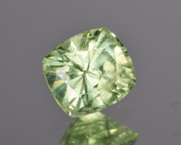 Natural Demantoid Garnet 1.06 Cts, Full Sparkle Faceted Gemstone