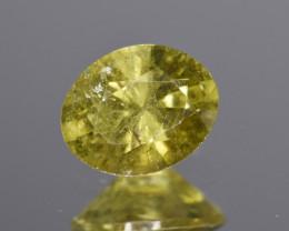 Natural Demantoid Garnet 1.11 Cts, Full Sparkle Faceted Gemstone