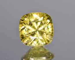 Natural Demantoid Garnet 1.19 Cts, Full Sparkle Faceted Gemstone