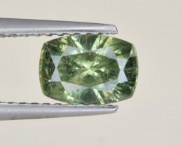 Natural Demantoid Garnet 1.25 Cts, Full Sparkle Faceted Gemstone