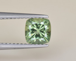 Natural Demantoid Garnet 1.28 Cts, Full Sparkle Faceted Gemstone