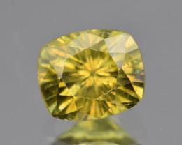 Natural Demantoid Garnet 1.70 Cts, Full Sparkle Faceted Gemstone