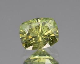 Natural Demantoid Garnet 1.86 Cts, Full Sparkle Faceted Gemstone