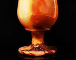 Genuine 1221.00 Cts Agate Wine Glass