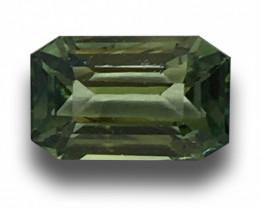 Natural Unheated Green sapphire |Loose Gemstone| Sri Lanka