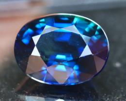 Blue Sapphire 2.62Ct Natural Blue Sapphire D0209