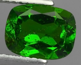 2.28 CTS NATURAL ULTRA RARE CHROME GREEN DIOPSIDE  RUSSIA