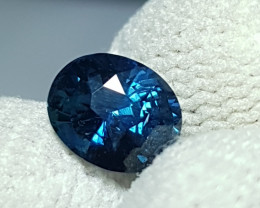 NO HEAT 1.62 CTS CERTIFIED NATURAL STUNNING OVAL MIX BLUISH GREEN SAPPHIRE
