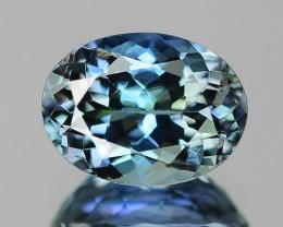 1.35 Cts Amazing rare Blue Green Natural Tanzanite Gemstone