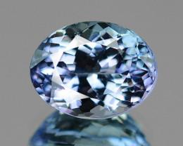 1.88 Cts Amazing rare Blue Color Natural Tanzanite Gemstone