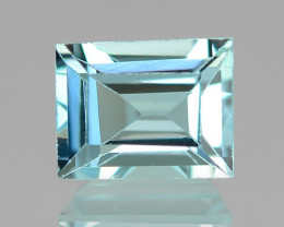 1.06 Cts UN HEATED  NATURAL AQUAMARINE LOOSE GEMSTONE