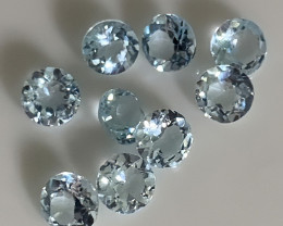 Superb Aquamarine Pardcel - Glittering Jewellery grade gems C8P