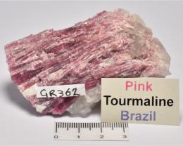 PINK TOURMALINE BRAZIL (GR362)