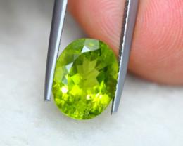 4.08Ct Natural Green Peridot Oval Cut Lot LZ3895