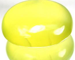 ~STUNNING~ 15.28 Cts Natural Radium Green Prehenite Cabochon Guinea