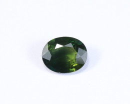 **No Reserve** 1.43ct Natural Green Sapphire