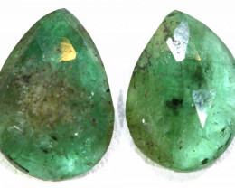 4.0 CTS EMERALD PAIR  BG-179