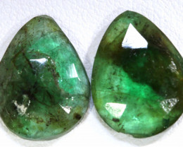 7.35 CTS EMERALD PAIR  BG-180