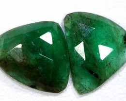 3.75 CTS EMERALD PAIR  BG-184