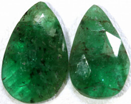 2.45 CTS EMERALD PAIR  BG-183