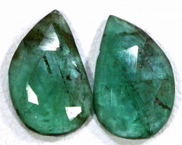 2.95 CTS EMERALD PAIR  BG-192