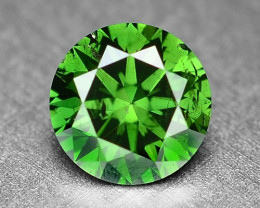 0.30 Cts Sparkling Rare Fancy  Green Color Natural Loose Diamond