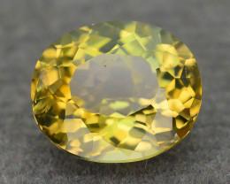 Yellow Tanzanite aka Zoisite 1.70 ct Rare Color SKU.23
