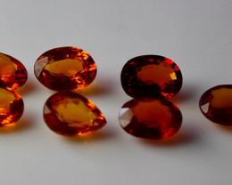4.00 Cts Unheated ~ Natural Orange Garnet Gemstone