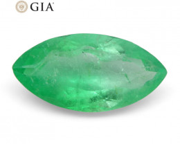 1.68 ct Marquise Emerald GIA Certified Colombian