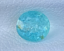 PARAIBA 0.78 Carats Natural Color Tourmaline Paraiba Gemstone