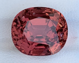 8.55 Carats Natural Color Rubellite Tourmaline Gemstone
